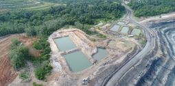 Operations Settling Pond for PIT coal5